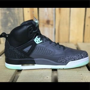 watch 01ec9 ce19a Jordan Shoes - Nike Jordan Spizike GG Black Mint Foam-Gray 9.5Y